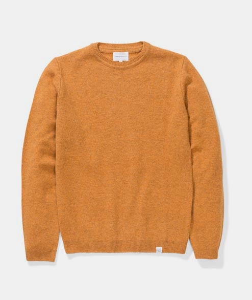 Norse Projects - Sigfred Lambswool - Mustard Yellow