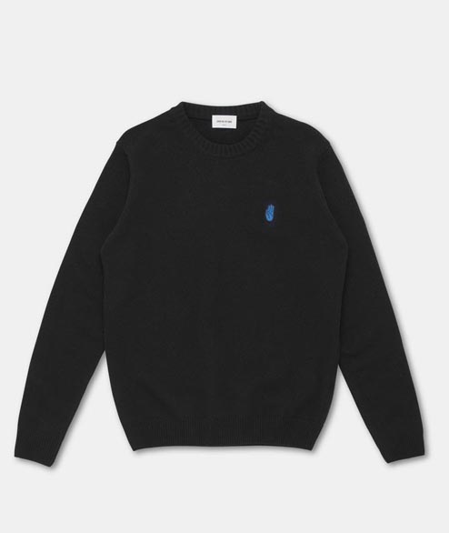 Wood Wood - Yale Sweater - Black