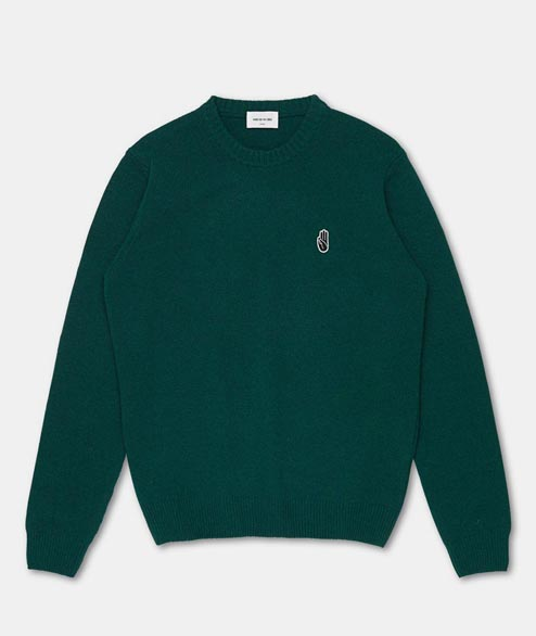 Wood Wood - Yale Sweater - Green