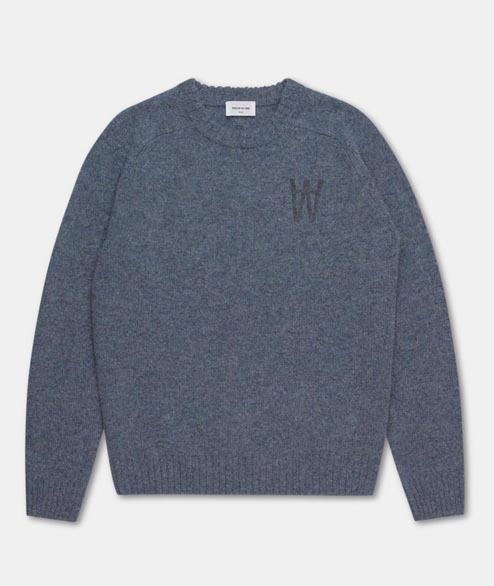 Wood Wood - Kevin Sweater - Light Blue
