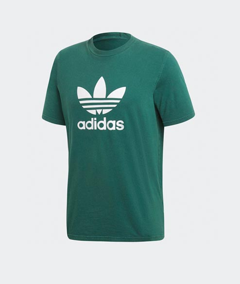 Adidas originals - Trefoil TShirt - Green