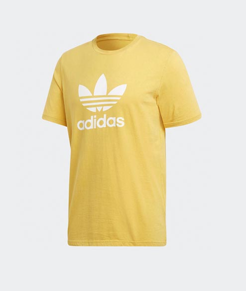 Adidas originals - Trefoil T Shirt - Yellow