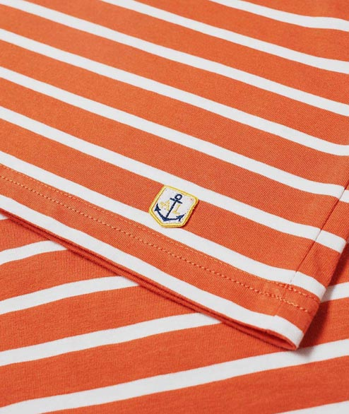 Armor Lux - Sailor LS Heritage - White Orange