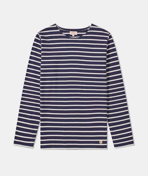 Armor Lux - Sailor LS Heritage - Navy White