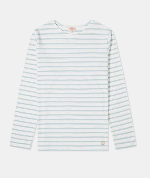 Armor Lux - Sailor LS Heritage - White Light Grey