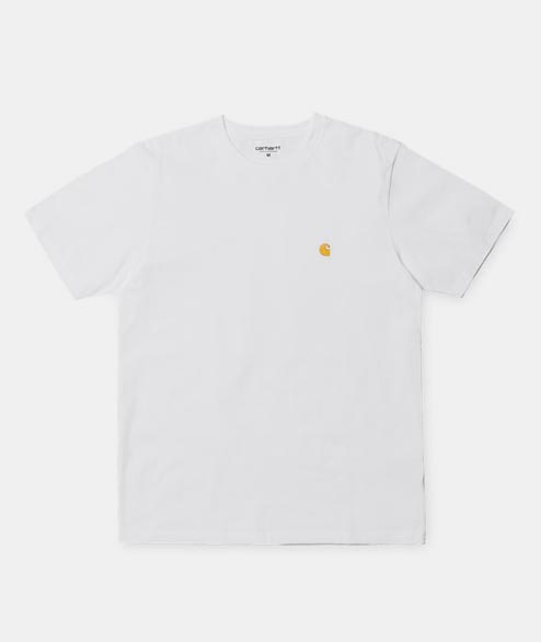 Carhartt WIP - SS Chase T Shirt - White