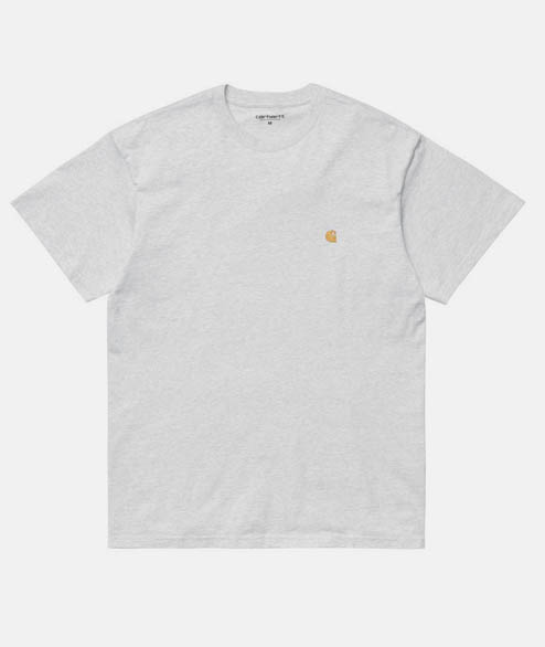 Carhartt WIP - SS Chase T Shirt - Grey Heather