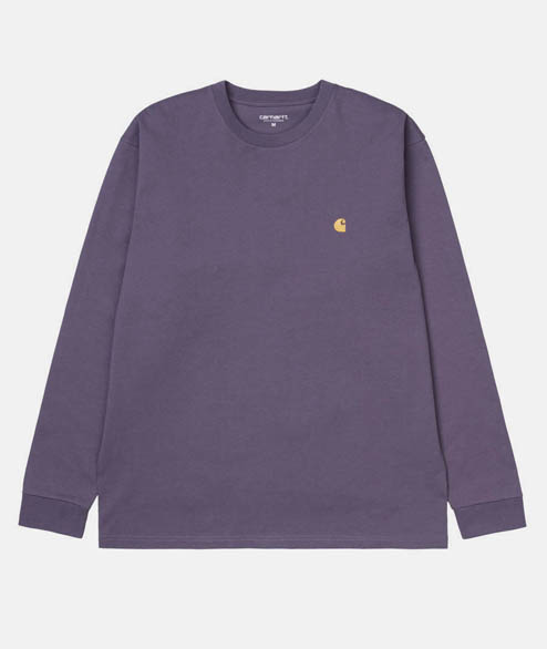 Carhartt WIP - Long Sleeve Chase Tee - Provence
