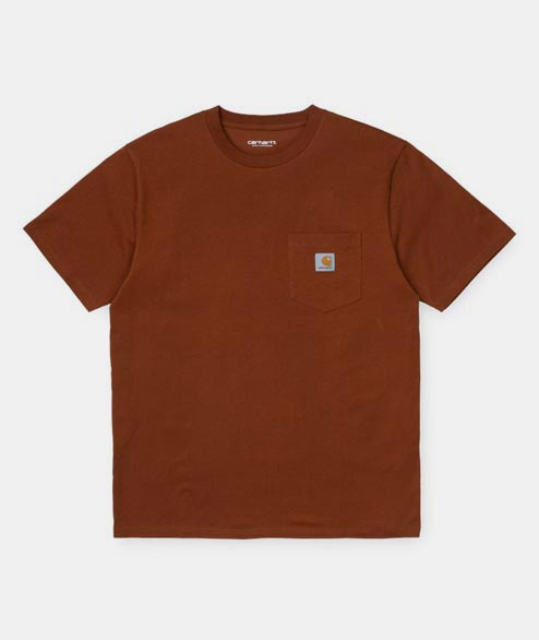 Carhartt WIP - Pocket Tee - Brandy