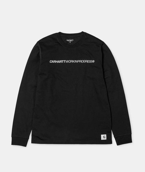 Carhartt WIP - LS Beta Tee Shirt - Black Reflective