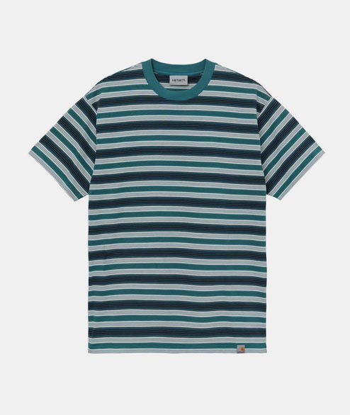 Carhartt WIP - SS Otis Tee - Wax Stripes