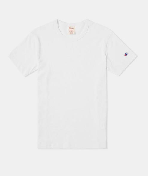 Champion - Reverse Weave T Shirt - White