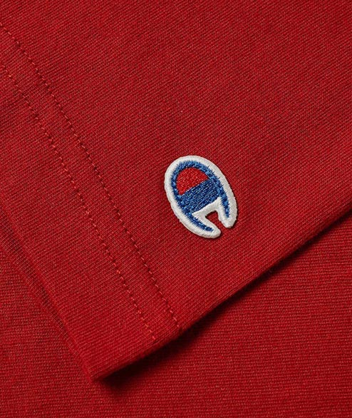 Champion - Sleeve Logo Tee - Red