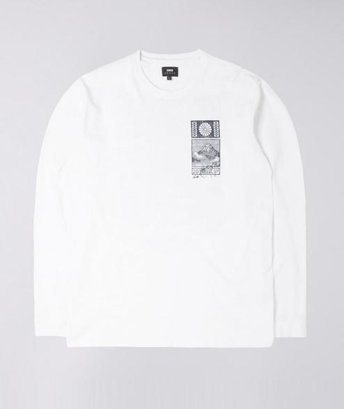 Edwin - From Japan With Love LS - White