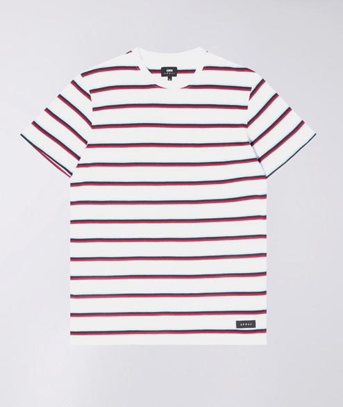 Edwin - West Stripes - White