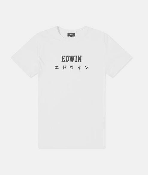 Edwin - Edwin Japan TS - White