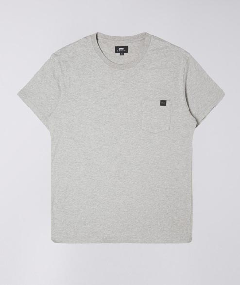 Edwin - Pocket TS - Grey Marl
