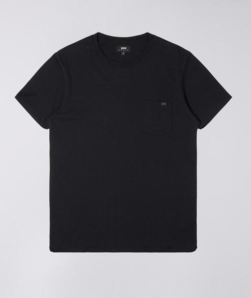 Edwin - Pocket TS - Black Garment Washed