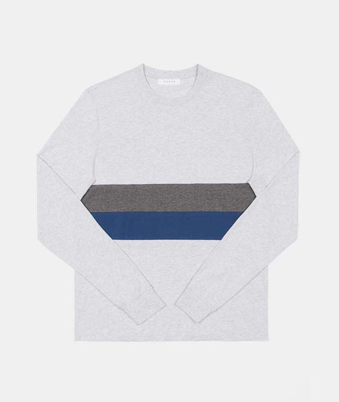 Futur - Flag LS - Heather Grey