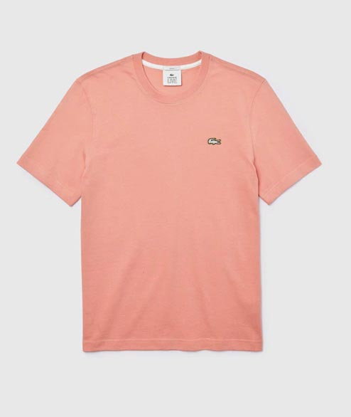 Lacoste Live - Basic Tee - Pink