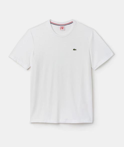 Lacoste Live - Basic Tee - White
