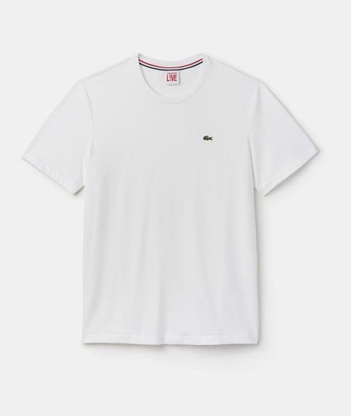Lacoste Live - Lacoste Basic Tee - White