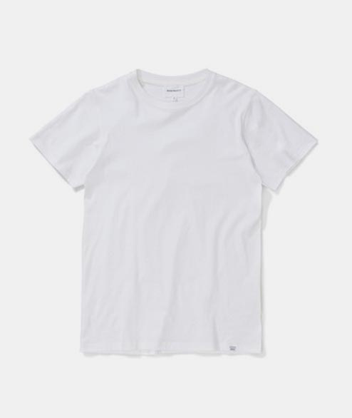 Norse Projects - Niels Standard SS - White
