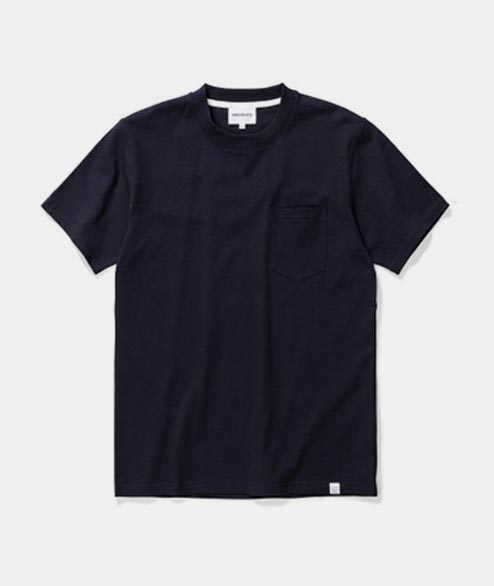 Norse Projects - Johannes Pocket SS - Dark Navy