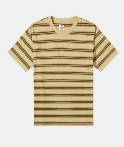 Polar Skate Co. - Stripe Tee - Sand