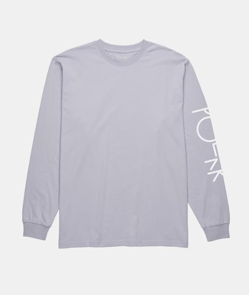 Polar Skate Co. - Script Logo Long Sleeve - Lavender