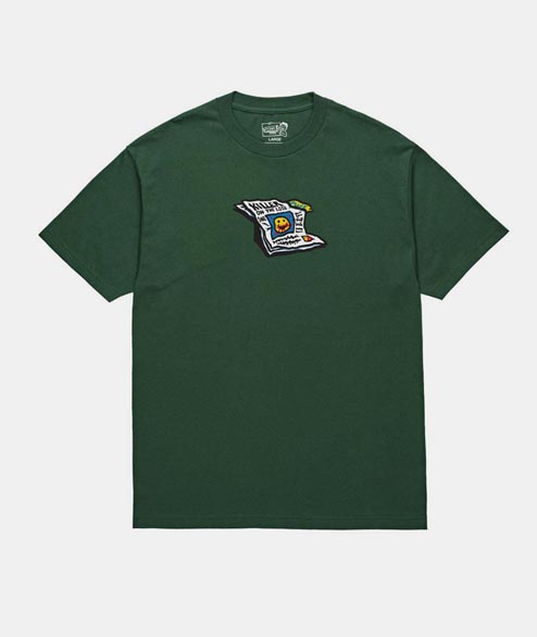 Polar Skate Co. - Puff Tee - Forest Green