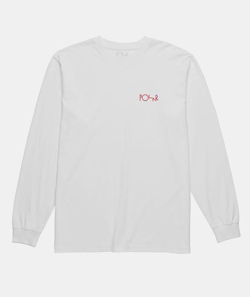 Polar Skate Co. - Man With Dog Long Sleeve - White