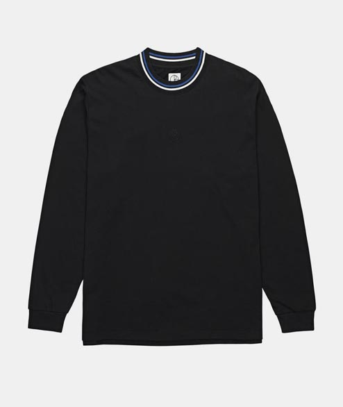 Polar Skate Co. - Striped Longsleeve - Black