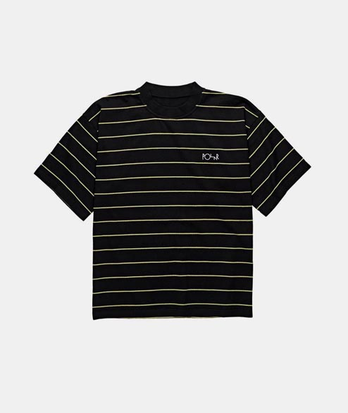 Polar Skate Co. - Checkered Surf Tee - Black