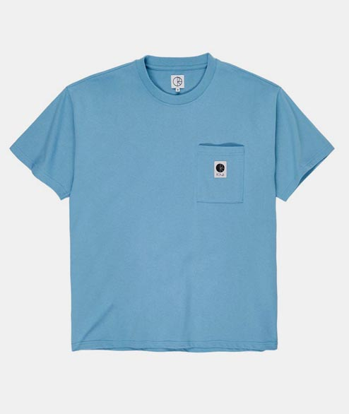 Polar Skate Co. - Pocket Tee - Blue