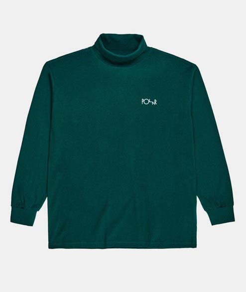 Polar Skate Co. - Script Turtleneck - Dark Green
