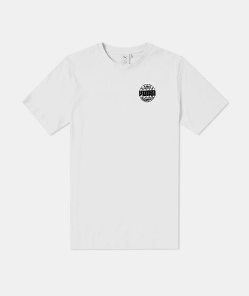 Puma - Diamond Logo Tee - White