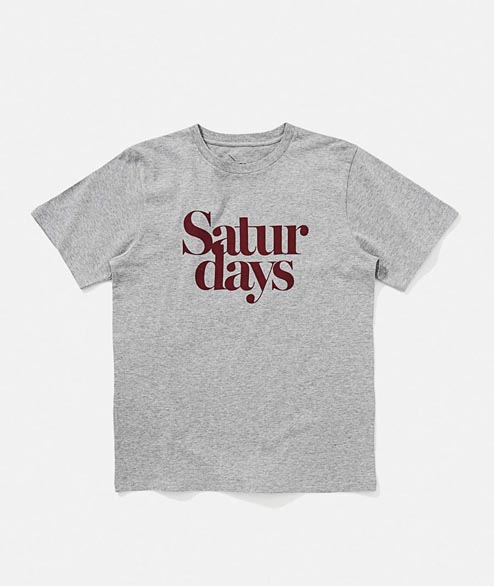 Saturdays - Miller Black - Ash Heather