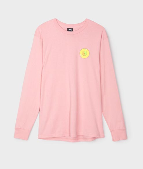 Stussy - Hippie Circle Tee - Dusti Rose