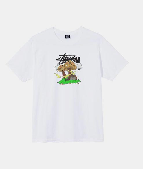 Stussy - Something is Cooking Tee - White