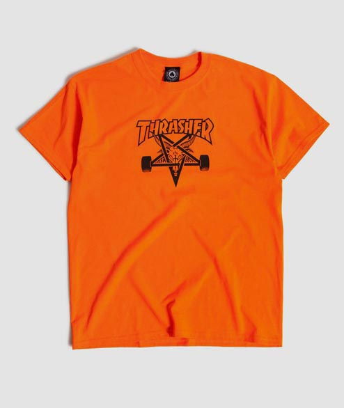 Thrasher - Skategoat Tee - Safety Orange