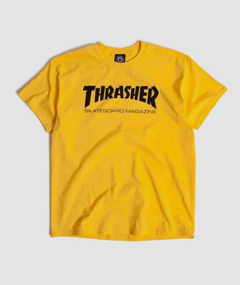 Thrasher - Skatemag Tee - Yellow