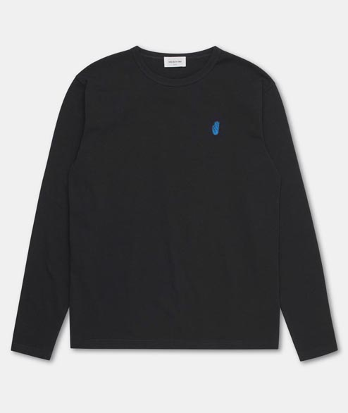 Wood Wood - Archway Long Sleeve - Black
