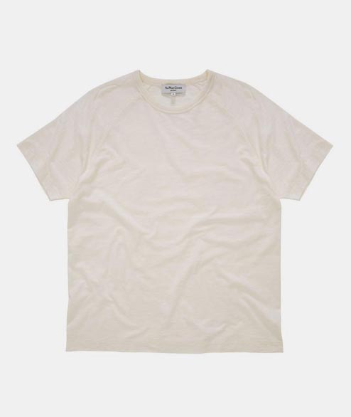 YMC - TV Raglan Tee - Cream