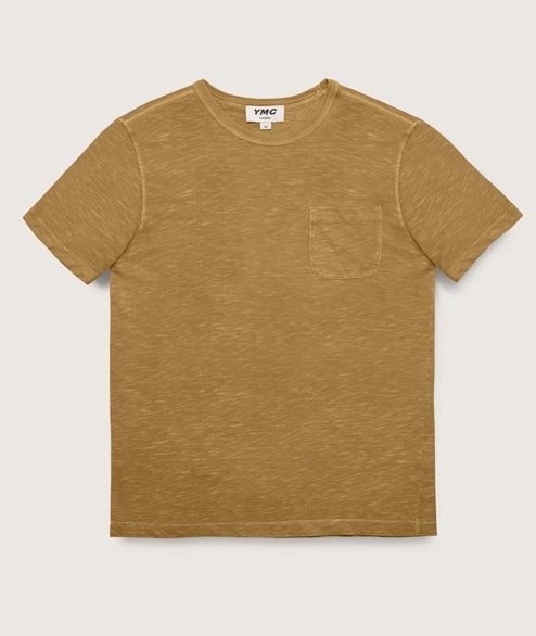 YMC - Wild Ones Pocket Tee - Olive