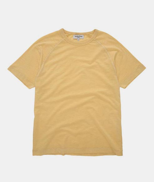 YMC - TV Raglan Tee - Lemon