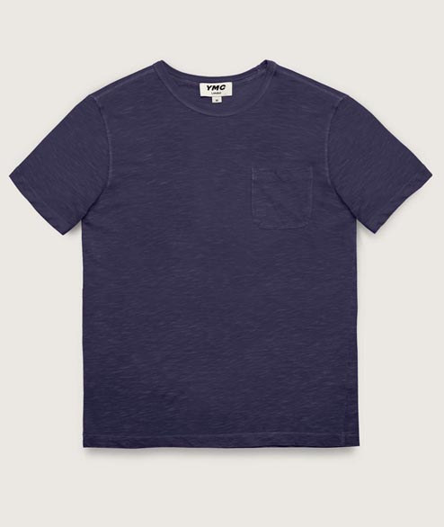 YMC - Wild Ones Pocket Tee - Navy