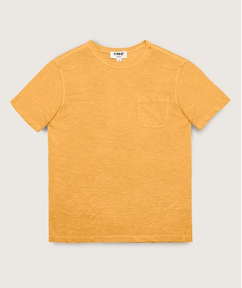 YMC - Wild Ones Pocket Tee - Yellow