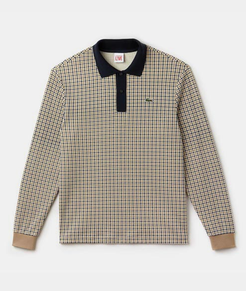 Lacoste Live - Check polo LS - Multicolor