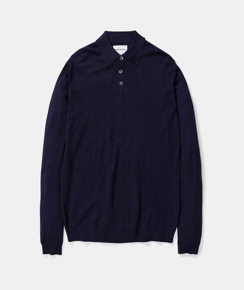 Norse Projects - Johan Merino Polo - Dark Navy